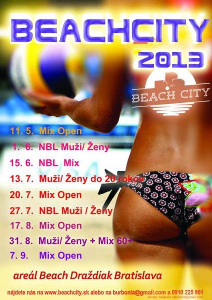 Príďte si zahrať plážový volejbal na Beach Sity