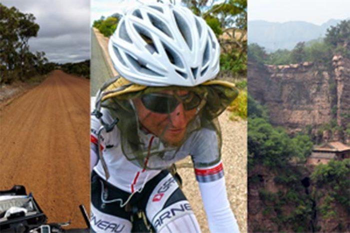karol voltemar na bicykli okolo sveta
