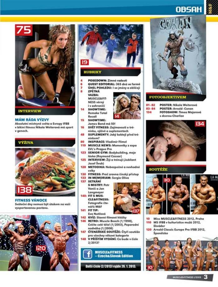 MUSCLE&FITNESS 1/2013