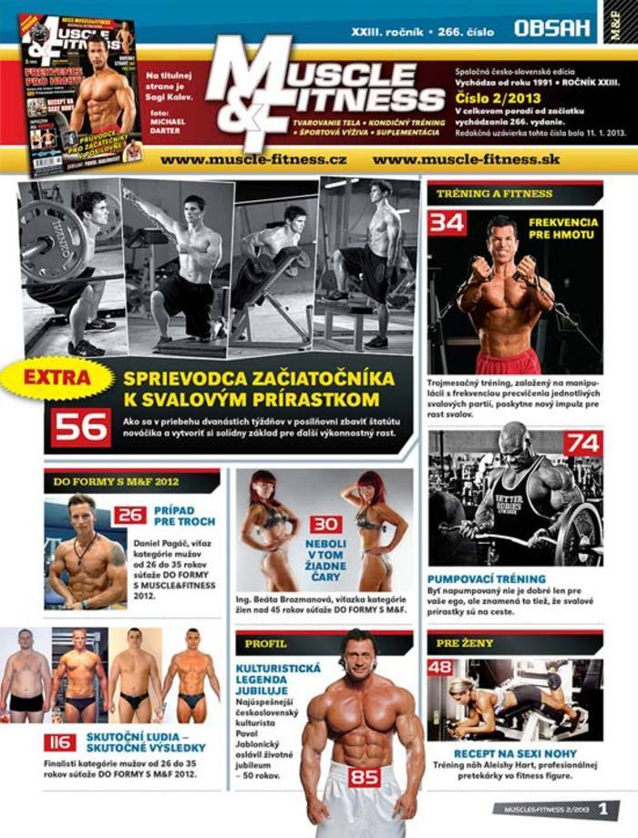 MUSCLE & FITNESS 2/2013
