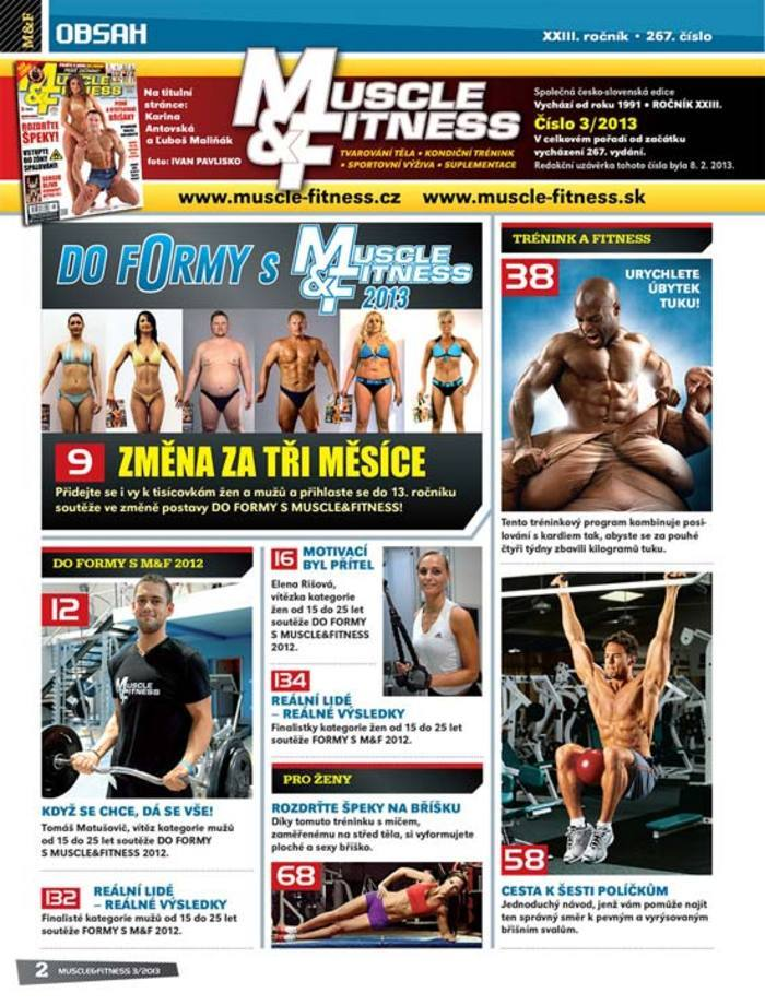 MUSCLE&FITNESS 03/2013