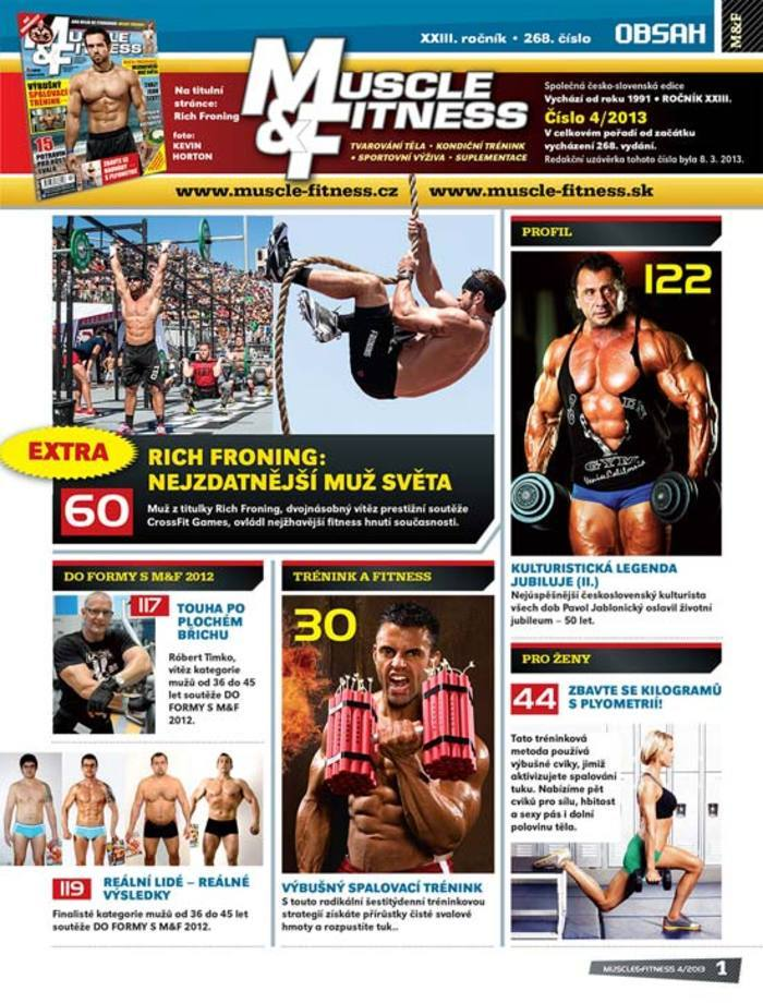 MUSCLE&FITNESS 4/2013