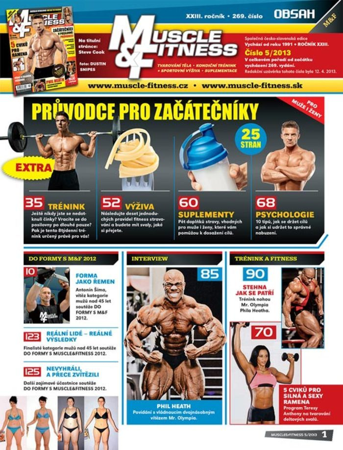 MUSCLE&FITNESS 05/2013