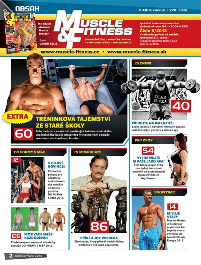 MUSCLE&FITNESS 6/2013
