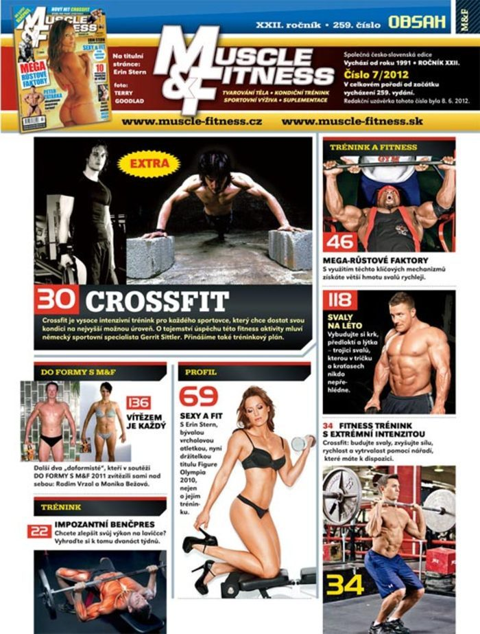 MUSCLE&FITNESS 7/2012