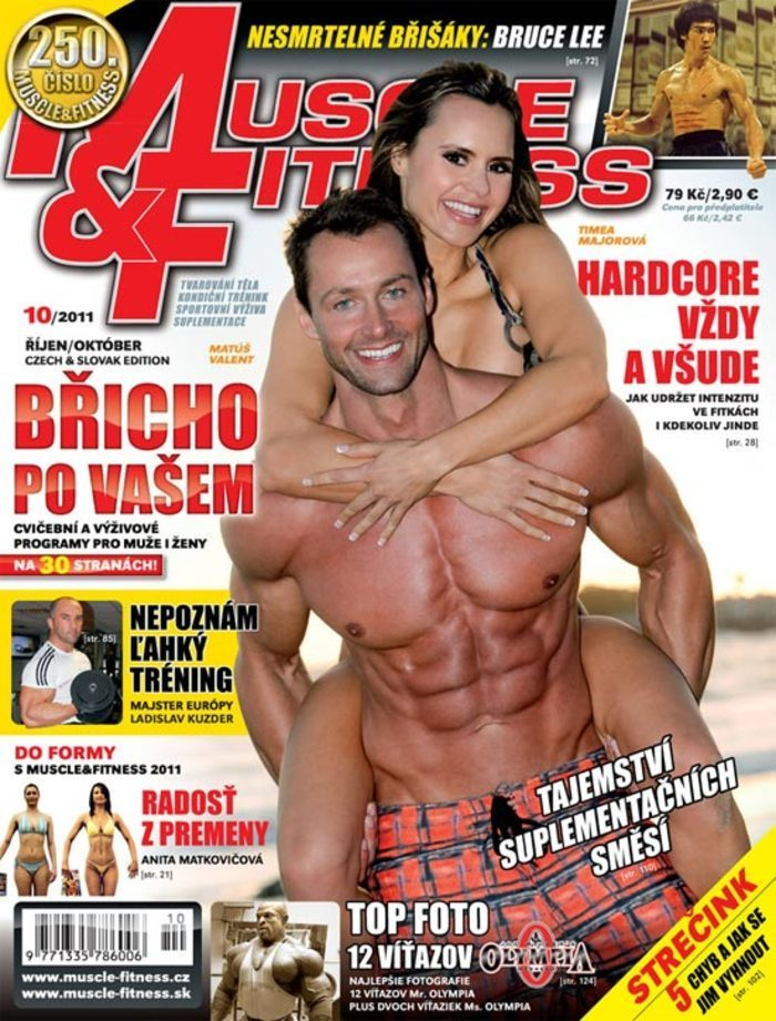 MUSCLE&FITNESS 10/2011