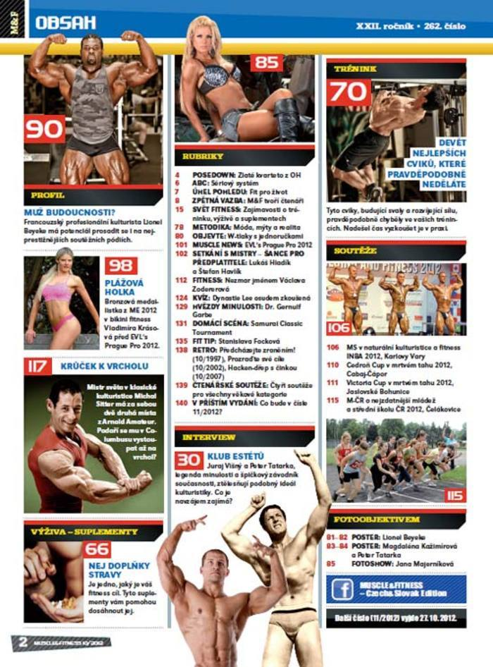 MUSCLE&FITNESS 10/2012
