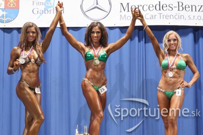 MSR 2012 v kulturistike, fitness, bodyfitness a bikiny žien