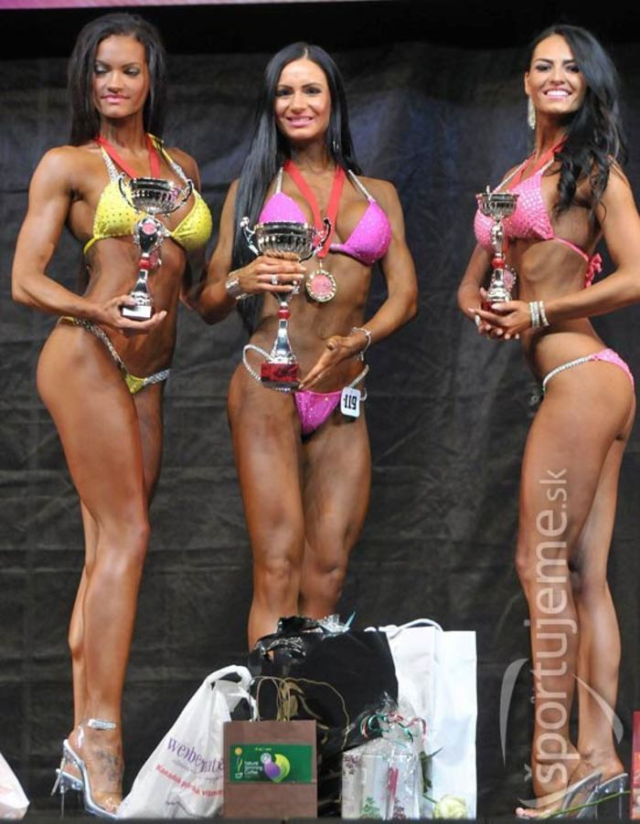 MSR vo fitness, bodyfitness a bikiny žien 2014 - Nitra