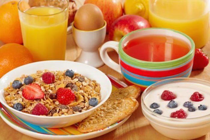 Nezabudnite začať deň raňajkam