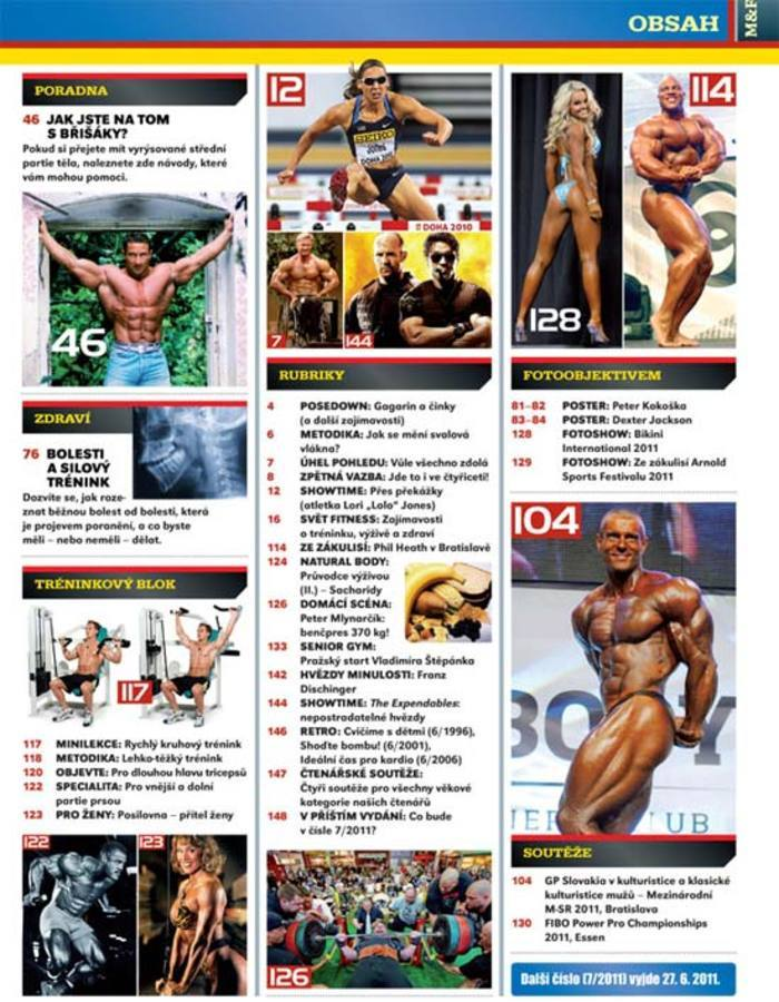 MUSCLE&FITNESS 6/2011