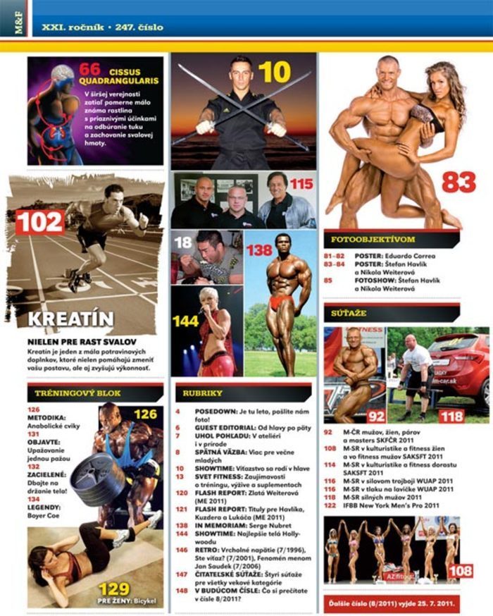 MUSCLE&FITNESS 7/2011