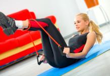 cvičenie s expanderom