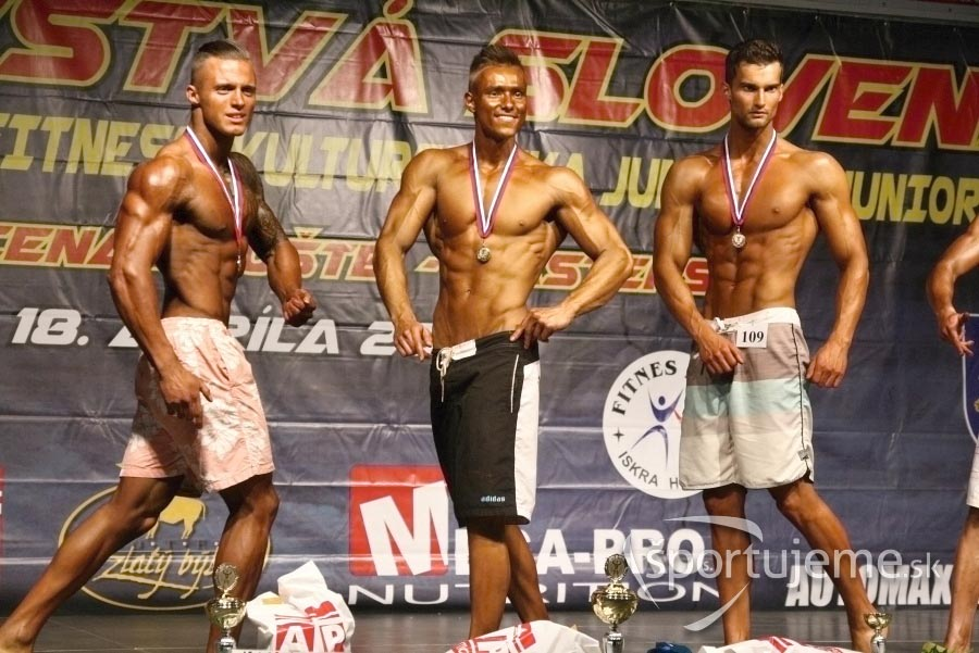 Mens physique open Hnúšťa 2015