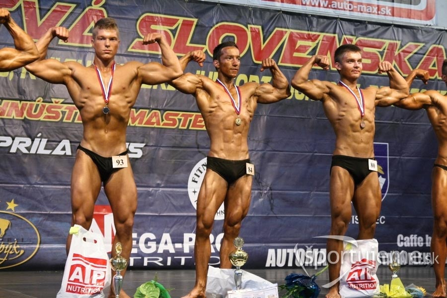 kulturistika juniori do 70kg Hnúšťa 2015