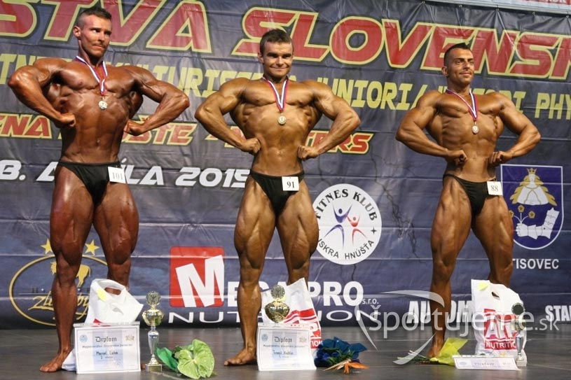 kulturistika juniori do 80kg Hnúšťa 2015