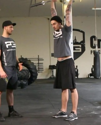 thruster crossfit