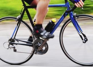 bicyklovanie, šliapanie do pedálov