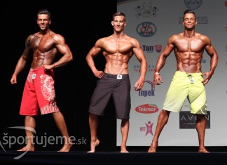 Men's Physique do 180cm Nitra 2015