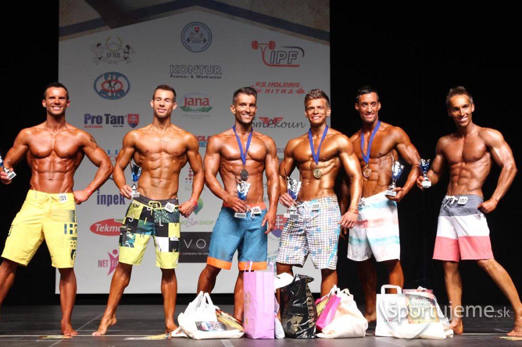 Men's Physique MSR Nitra 2015
