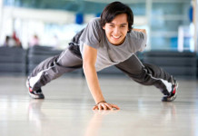 cvičenie s váhou vlastného tela