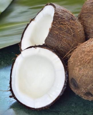 kokosový cukor a mlieko