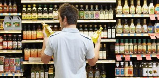 nakupovanie potravín