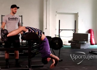 crossfit glute-ham sit-up