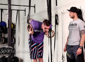 crossfit ring dip