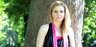 Katarína Sekereš, cvičenie s therabandom