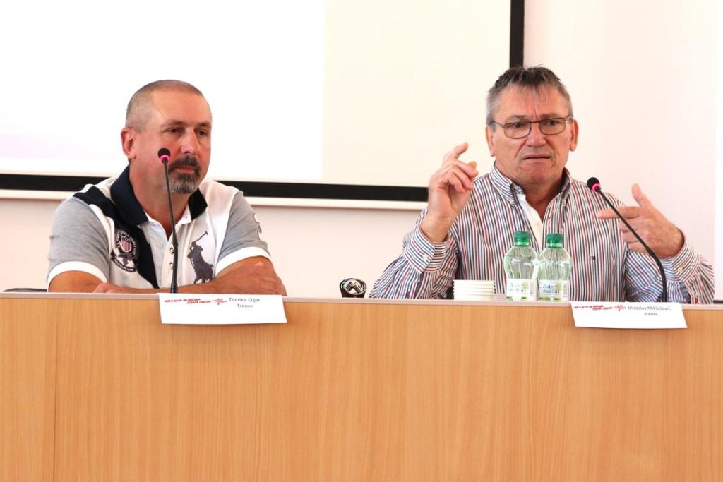 Zdenko Cíger a Miroslav Miklošovič