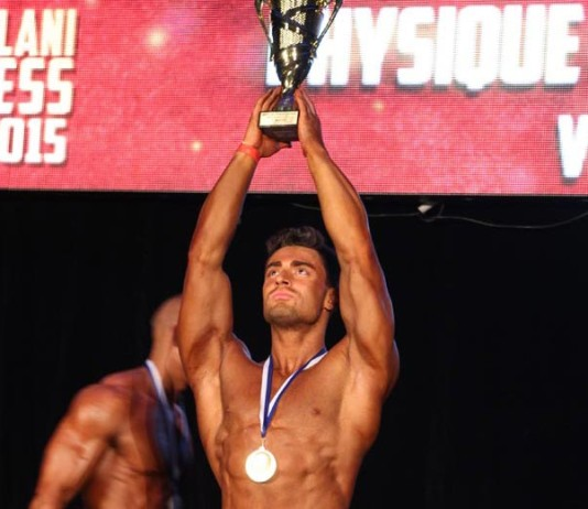 Men's Physique Mozolani Fitness Cup 2015