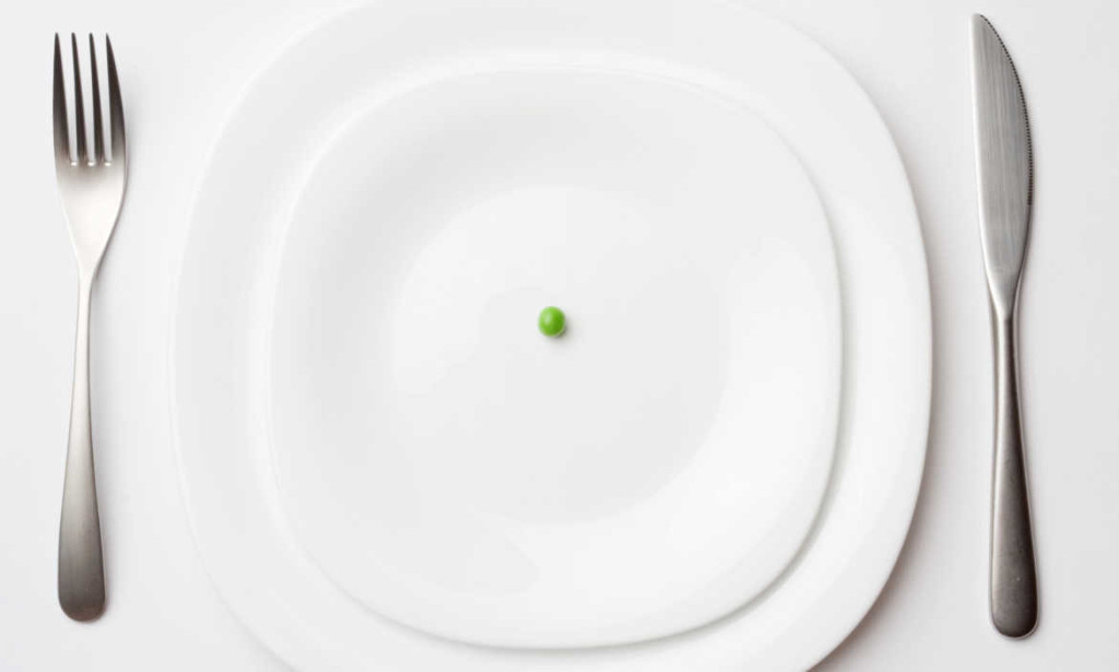 hladovanie drastická diéta