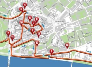 ČSOB maratón 2016 mapa