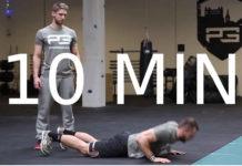 10 minútový tréning