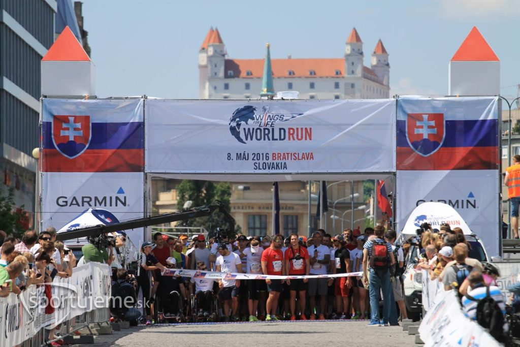 Wings For Life World Run Bratislava 2016