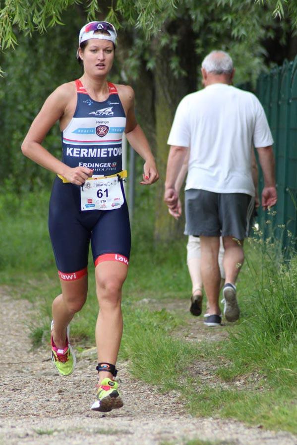 Veronika Kermietova triathlon beh