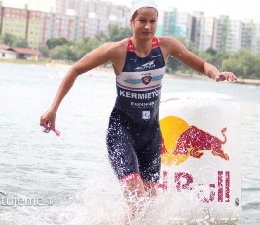 Veronika Kermietová plávanie triathlon