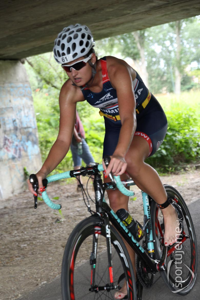 veronika Kermietova triathlon bicykell